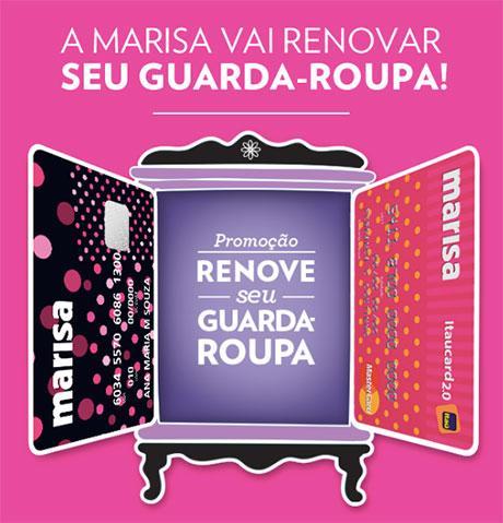 Promoção Renove seu Guarda-Roupa – Lojas Marisa