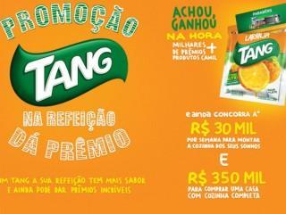 Promoção da Tang oferece prêmios de até R$ 350 mil